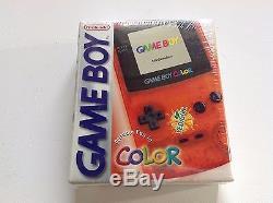 Nintendo Gameboy Color Orange Rare Edition Yedigun