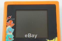 Nintendo Gameboy Color Pikachu Orange & Blue Pokemon Center GB From Japan