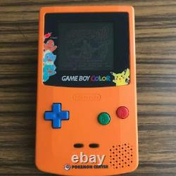Nintendo Gameboy Color Pokemon Center Console System 3 years Anniversary Japan