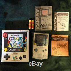 Nintendo Gameboy Color Pokemon Center Limited Console Gold Silver NEW