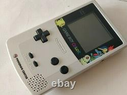 Nintendo Gameboy Color Pokemon Center Limited Edition console Boxed tested-c1029