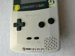 Nintendo Gameboy Color Pokemon Center Limited Edition console Boxed tested-d0320