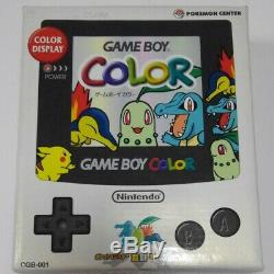 Nintendo Gameboy Color Pokemon Center Limited Edition console Boxed xx100