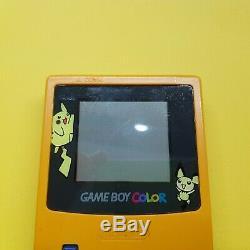 Nintendo Gameboy Color Pokemon Console / with Pokemon Yellow Game EUR