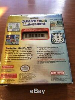 Nintendo Gameboy Color Pokemon Gold & Silver Limited Edition Boxed No Paperwork