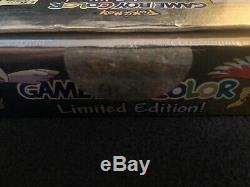 Nintendo Gameboy Color Pokemon Gold Silver Limited NEWithOTHER OPENBOX AUTHENTIC