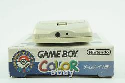 Nintendo Gameboy Color Pokemon Gold & Silver Version Console 2 GBC From Japan