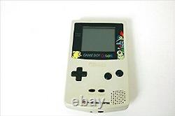 Nintendo Gameboy Color Pokemon Gold & Silver Version Console GBC F/S JAPAN USED