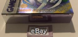 Nintendo Gameboy Color Pokemon Gotta Catch Em All Crystal Version