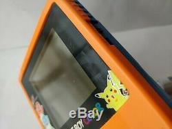 Nintendo Gameboy Color Pokemon Limited edition Orange color console, Game-c0331