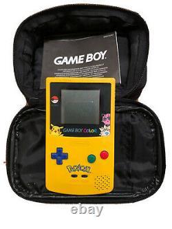 Nintendo Gameboy Color Pokemon Special Edition Handheld Games Console