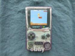 Nintendo Gameboy Color Q5 XL Oversized Backlit IPS LCD Screen OSD Game Boy GBC
