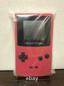 Nintendo Gameboy Color Red Rare New