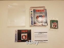 Nintendo Gameboy Color Resident Evil Gaiden Rare