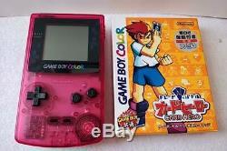 Nintendo Gameboy Color SAKURA TAISEN WARS Limited edition console, Game set-b113