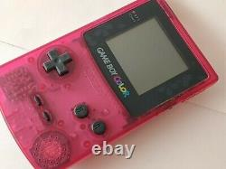 Nintendo Gameboy Color SAKURA TAISEN WARS Limited edition console, Game set-b323