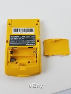 Nintendo Gameboy Color Tommy Hilfiger Special Edition Yellow