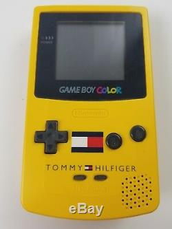Nintendo Gameboy Color Tommy Hilfiger Special Edition Yellow with Box