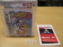 Nintendo Gameboy Color, Wario Land 3 Red Strip Vga 85+ Nm+ Gold Neu Ovp
