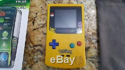 Nintendo Gameboy Color With Backlit Ags101 Mod Pokemon