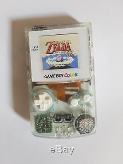 Nintendo Gameboy Colour Backlight AGS-101 Clear White Screen Lens