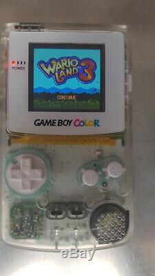 Nintendo Gameboy Colour Backlight Clear White Screen Lens