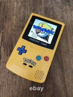 Nintendo Gameboy Colour Color Pokemon Anniversary Game Console Q5 IPS Backlit