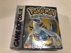 Nintendo Gameboy Colour Pokemon Silver Sealed Brand New