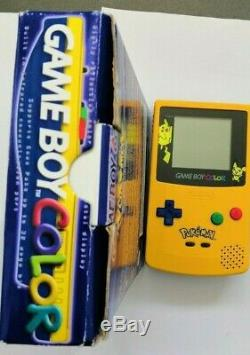 Nintendo Gameboy Colour Pokemon Special Edition Boxed and in great condition