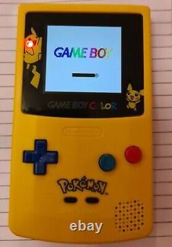 Nintendo Gameboy Colour Special Edition Pokemon Pikachu Console