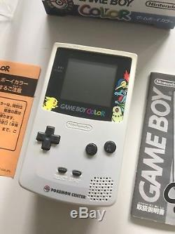 Nintendo Gameboy Game Boy Color Special limited Pokemon Edition White boxed OVP