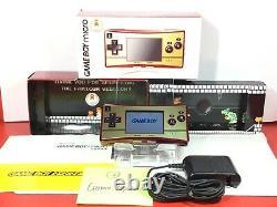 Nintendo Gameboy Game Boy Micro Famicom Color NES Console 20th Anniversary 3 BOX