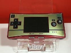 Nintendo Gameboy Game Boy Micro Famicom Color NES Console 20th Anniversary BOX 5