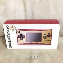 Nintendo Gameboy Micro Famicom Color Console 20th Anniversary NEW