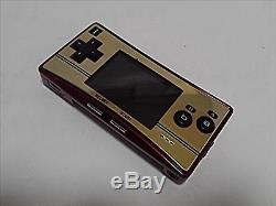 Nintendo Gameboy Micro Famicom Color Console F/S JAPAN SAL USED