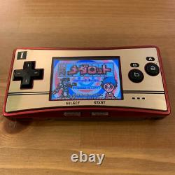 Nintendo Gameboy Micro Famicom Color No Box Two game software are included Used