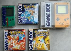 Nintendo Gameboy Pokemon Sammlung Color Advance Classic OVP