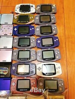Nintendo Official GameBoy Console Classic Pocket Color Advance SP 59 lots set JP