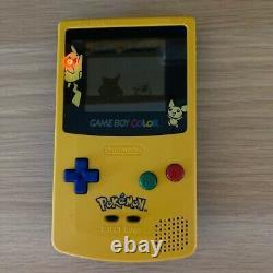 Nintendo Pikachu Game Boy Colour + Pokemon Red, All Original + Battery Cover