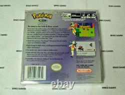 Nintendo Pokemon Crystal Version GameBoy Color Complete In Box NEW BATTERY