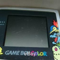 Nintendo Rare Pokemon Game Boy Color Silver from jAPAN