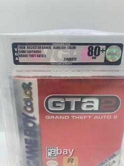 Nintendo VGA Gameboy Color GBC Spiel GTA 2 Grand Theft Auto 80+Silber NM