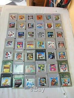 Nintendo gameboy classic und color Spiele Sammlung 135 Stück