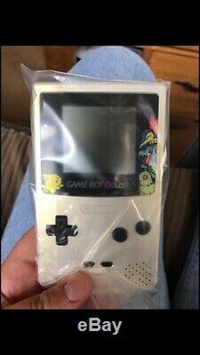 Nintendo gameboy colour Pokemon Centre Gold & Silver Edition BNIB