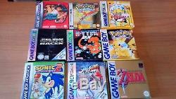Nintendo gameboy games bundle. Color, advanced, Pokémon, Street fighter
