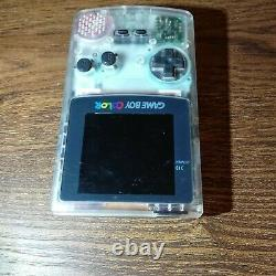 Oem GameBoy color Clear IPS LCD backlight swap backlit screen oversized display
