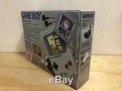 Original Nintendo Game Boy System CIB Complete in Box + Color + Advance Console