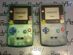 PICK A COLOR GLOWS In Dark Gameboy GBC Pokemon Pikachu Nintendo System Game Boy
