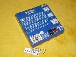 POKEMON BLU COMPLETO BATTERIA OK Nintendo Gameboy ADVANCE COLOR GAME BOY GBA
