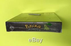 POKEMON CRYSTAL VERSION Game Boy Color Game AUTHENTIC US Version FACTORY SEALED